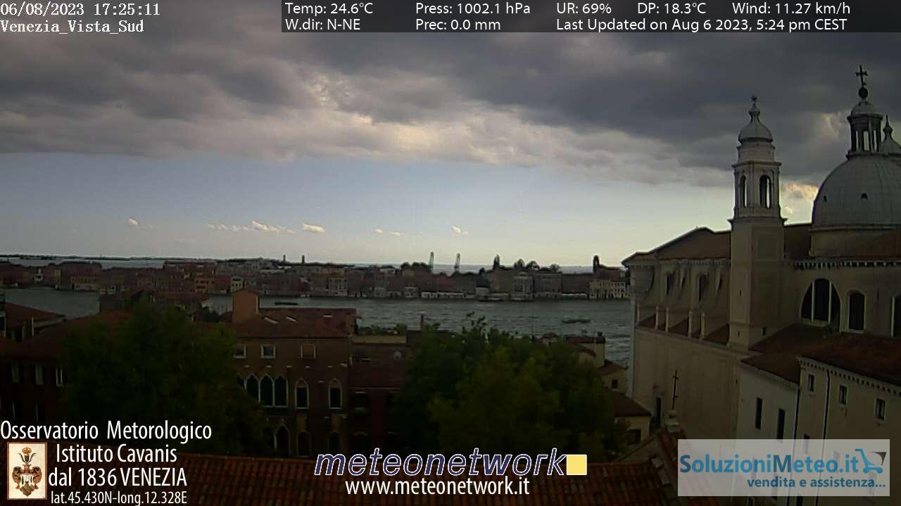 Webcam Venezia - Osservatorio Meteorologico Istituto Cavanis